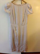 Lisa Ho Beige Cap Sleeve Knee Length Dress Size 6