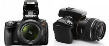 Sony Alpha SLT-A55 16.2 MP Digital SLR Kamera-Schwarz (Kit mit DT SAM 18-55mm...