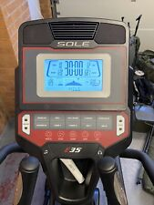 Sole  E35 Elliptical Cross Trainer - Excellent Condition - Only Used For 2 Hours