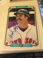 Wade Boggs Autographed Baseball Card Donruss Large Sized Card