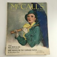 VTG McCall's Magazine March 1933 Mrs. Wiggs of the Cabbage Patch by Alice Rice