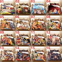 ONE PIECE Single/Double/Queen/King Bed Quilt/Doona/Duvet Cover Set Pillowcase