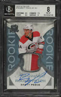 2015 The Cup Brett Pesce ROOKIE RC PATCH AUTO /249 #190 BGS 8 NM-MT