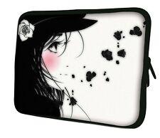 "LUXBURG 17"" Inch Design Laptop Notebook Sleeve Soft Case Bag Cover #BV"