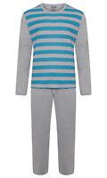 Mens Lounge PJ Pyjamas Sets Night Wear PJ's 2 Piece Pyjama Set Gents New Styles