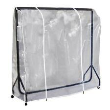 5 ft (environ 1.52 m) Clair Transparent Vêtements Rail Cover pour accrocher vêtements manteaux