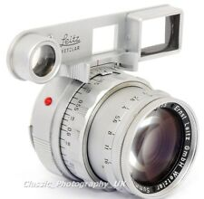 Summicron f = 5 cm 1:2 LEITZ somni Close Focus Leica-M Dual Range lens made in 1961