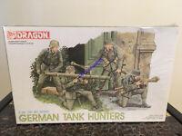 Dragon  6034 1/35 German Tank Hunters (4 Figures) '39-'45 Series