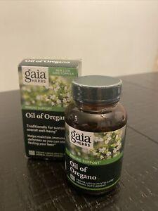 Gaia Herbs Oil of Oregano  - 60 Capsules