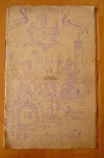 Philharmonia Seis Panier VII. Stiftungsfest Bierzeitung Pfingsten 1913
