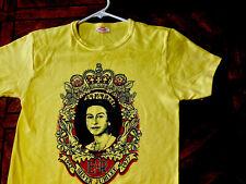 Queen Elizabeth II Silver Jubilee Shirt 1977 Vtg Rare Sex Pistols God Save