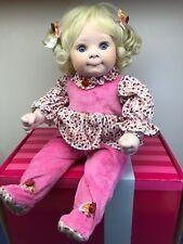 """18"""" Marie Osmond Doll """"Snuggle Bug"""" Ladybugs PorcLimited W/ Box & COA 12309"""