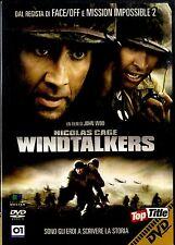 WINDTALKERS Nicolas Cage DVD Condizioni Eccellenti Edit.