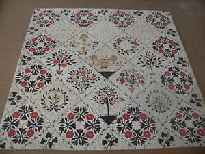 "SPRINGBOK 500 piece puzzle, ""Diamond Pattern Quilt"", complete as shown"