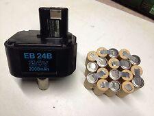 kit remplacement batterie Hitachi 24 v   en 2,0Ah ni cd