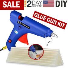 Mini Glue Gun with 30 Adhesive Sticks for Small Art Crafts Quick Repair Tool Kit