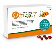 Pharma Nord Omega 7 Sea Buckthorn Oil - 150 CAPSULES. .