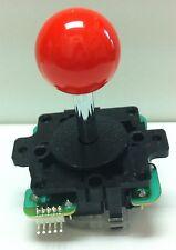 Japan Sanwa Joystick Vermilion Ball Top Arcade Parts JLF-TP-8Y-VER
