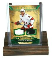 2020-21 UD Artifacts Dougie Hamilton Dual Patch/Jersey Card/65 - Hurricanes