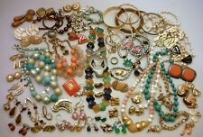 Mixed Jewelry Box Lot Vintage to Modern Wear / Repair Rhinestone & Fashion #4