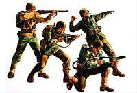 Tamiya 35013- 1:35, US Armee 4 Infanteristen, WWII, GMK World War II, Plastikmod