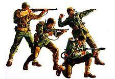 Tamiya 35013- 1:35,US Armee 4 Infanteristen, WWII,GMKT World of War II,Plastikm.