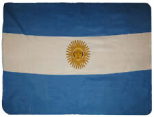 Argentina Flag 50x60 Polar Fleece Blanket Throw