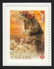 CHRISTMAS = JESUS BABY = Single - cut from Booklet Canada 2009 # 2345 MNH