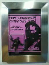 SUCKLORD VECTAR THE INTOLERABLE TOY LORDS OF CHINATOWN SUCKADELIC BOOTLEG FRAMED