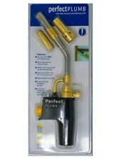 Plumbing Soldering Brazing Blow Torch Use with Mapp / Propane Gas 2 Extra TIPS