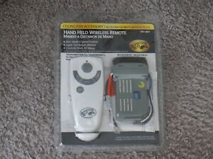 NEW Hampton Bay Hand Held Wireless Remote 191-691 Transmitter T2 and Receiver R1