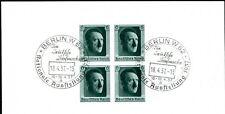 Dr 1937 bloque 8 con sello Berlin w62 muy bonito aún originalgumm (i1654