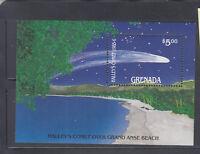 Grenada 1986 Halley's Comet Sc 1370 MS  complete mint never hinged