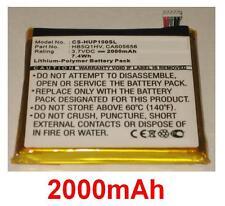 Batterie 2000mAh type CA605656 HB5Q1HV Pour Huawei Ascend D1 Quad XL