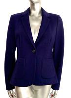 Hobbs Navy Blazer Jacket wool blend UK 12