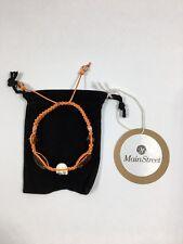 26 Main Street - Adjustable Bead and Skull Macrame Bracelet