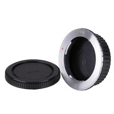 Olympus OM Lens to Canon EOS EF mount Camera adapter 70D 60D 750D +2caps