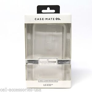 Case-Mate Naked Tough Crystal Clear Case for LG K10