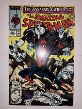 Amazing Spider-Man # 322 (1989 Marvel Comics) Nm Todd McFarlane Art Silver Sable