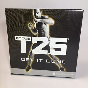 Beachbody T25 Focus Alpha And Beta Get It Done Dvds