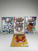 Digital Digimon Monsters Dark Horse Comics Volumes 1 2 3 and 4 Lot Collectors