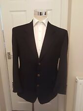 YSL YVES SAINT LAURENT METAL BUTTON BLAZER 42 PURE NEW WOOL SPORTS JACKET