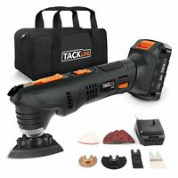 Oscillating Tool, Tacklife PMT03B 20V Max Cordless Multifunctional Tool, 2.0Ah L