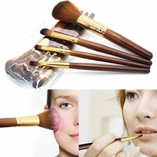 Pro Makeup 4pcs Brushes Set Eyeshadow Eyeliner Lip Brush Powder Foundation Tool