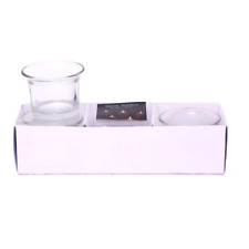 3 x Clear Glass Votive Tea Light Holder Candle Home Decoration Party Wedding