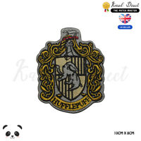 Harry Potter Hufflepuff Large Full Embroidered Iron On Sew On Patch Badge