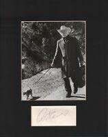Art Carney Signed Autographed Cut Matted 11x14 w/COA 073019DBT2