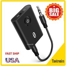 TaoTronics Bluetooth Transmitter and Receiver, 2-in-1 Wireless Adapter TT-BA07