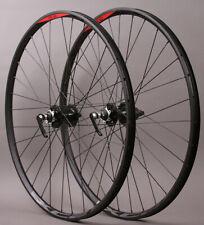 "WTB SX17 Rims 26/"" Black Mountain Bike MTB Wheelset 6B 28h Clincher Shimano//SRAM"