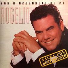 """ROGELIO CRUZ  """"Vas a Acordarte De Mi (Salsa Con Sentimiento) *New * 1993 Orig CD"""